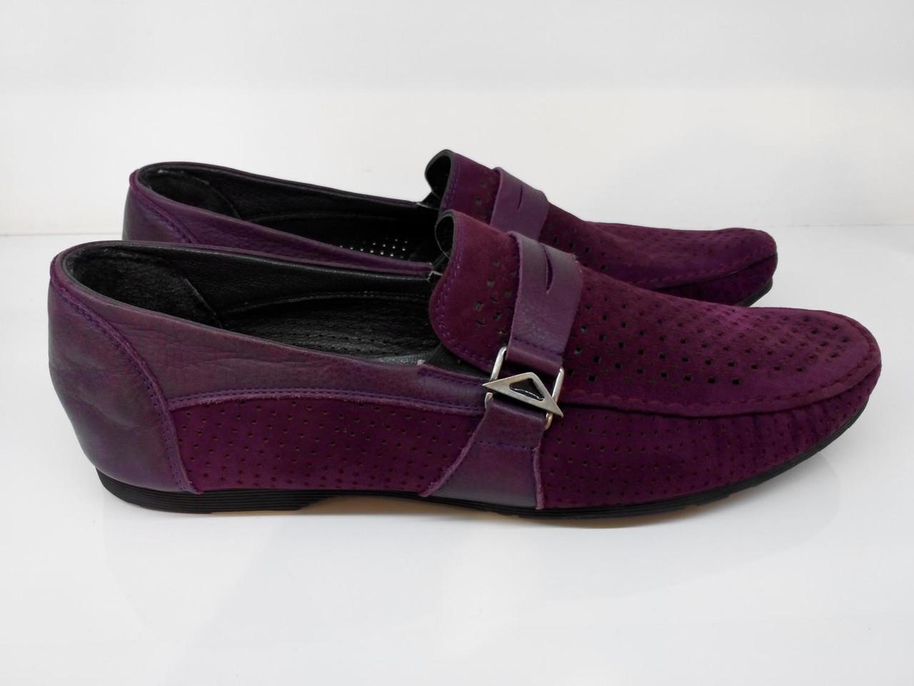 Мокасины  Etor 6991-646 фиолетовые