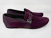 Мокасины  Etor 6991-646 фиолетовые, фото 1
