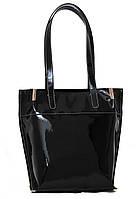 Оригинальная женская сумка Vatto лаковая черная