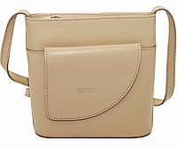 Женская сумочка Vatto св.зеленая из натуральной кожи