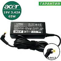 Блок питания зарядное устройство для ноутбука Acer (19V 3.42A 65w 5.5x1.7), фото 1