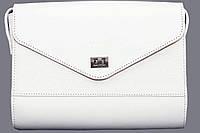 Женская сумочка Vatto белая из натуральной кожи