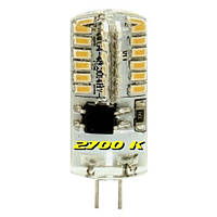 Светодиодная капсульная лампа Feron 5222 LB-522 230V 3W 48leds G4 2700K 240lm
