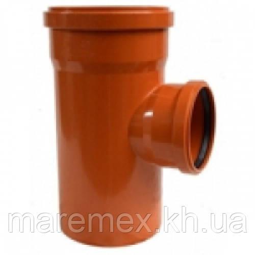 Тройник наружный ПВХ для труб 315/110х90 - Инсталпласт-ХВ