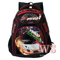 Школьный рюкзак для мальчика Speed Racing, фото 1