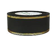 Лента флористическая траурная - №16 (5 см х 50 ярдов) черная