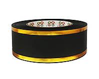 Лента флористическая траурная - №17 (5 см х 50 ярдов) черная