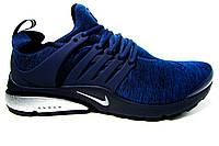 Мужские кроссовки  Nike Air Presto, текстиль, синие, Р. 42 43 44