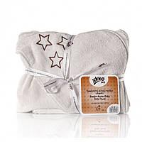 Махровое полотенце с уголком 90х90 ХККО коллекция Звезда Natural