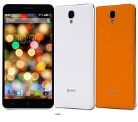 Смартфон Nomi i504 8GB dual White\ Orang, фото 1