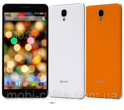 Смартфон Nomi i504 8GB dual White\ Orang, фото 2