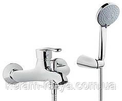 Смеситель для ванны с аксессуарами Invena Avila BW-02-001