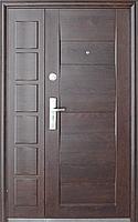 Входная металлическая дверь Двери Оптом Нестандарт ТР-С 58 бархатный лак 1200*2050