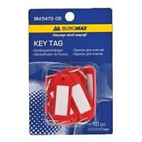Брелки для ключей 10 шт красный (BM.5472-05)