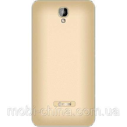 Смартфон Nomi i504 8GB dual Gold \ Black, фото 2