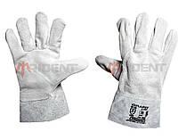 """Кожаные (спилковые) перчатки """"Grafit""""  TRIDENT, фото 1"""
