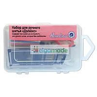 """Набор для шитья """"Делюкс"""" в пластиковом корпусе, Hemline"""