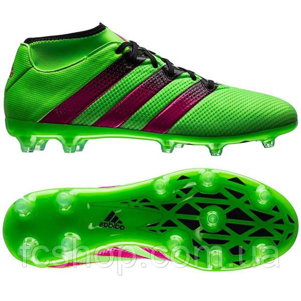 1d96131076ee Футбольные бутсы Adidas ACE 16.2 PRIMEMESH FG AG AQ2552 SR - FCSHOP.COM.