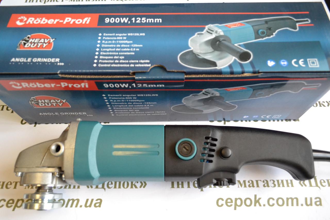 Кутова шліфмашина Rober-Profi WS125LWS