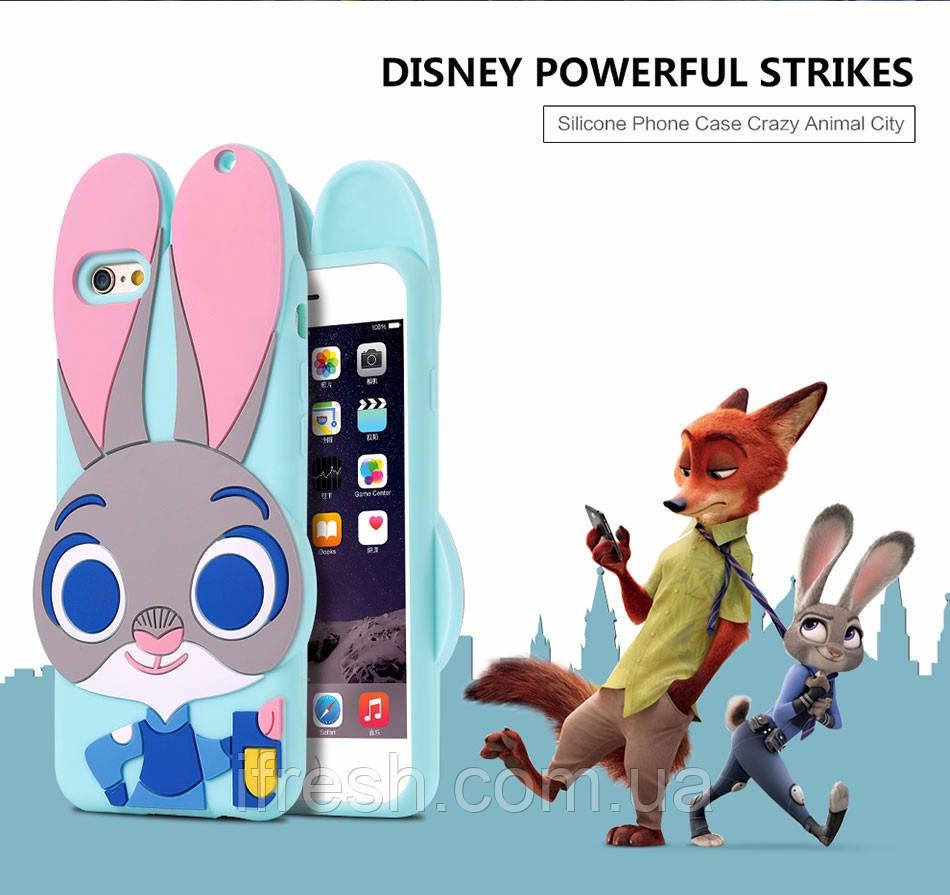 Чехол Джуди Хопс для iPhone 7 Plus, Зверополис