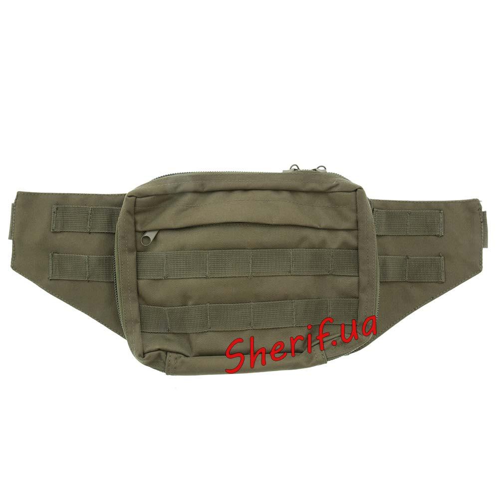 Кобура-сумка для хранения оружия пистолета MIL-TEC Olive, 16149001