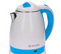 Электрический чайник термос Satori 5010, диск нерж.
