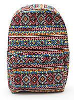 Стильная женская сумка-рюкзак с этническими узорами  Б/Н art. C-1, фото 1