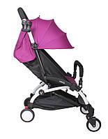 Прогулочная коляска YOYA фиолетовая (с увеличенным капором)