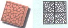 Форма для производства тротуарной плитки «Панцирь»