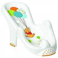 """Анатомическая подставка в ванночку OKT """"Winnie the Pooh"""" - белый"""