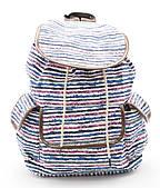 Спортивная женская сумка-рюкзак с цветными полосами  Б/Н art. C-1