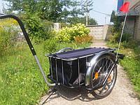 Велоприцеп Шоппер с сумкой и без