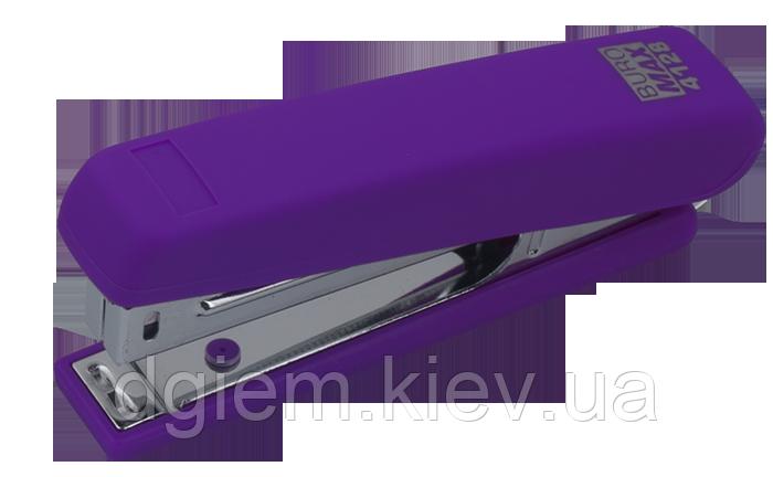 Степлер пластиковый RUBBER TOUCH BUROMAX 12л(скобы №10) ВМ.4128