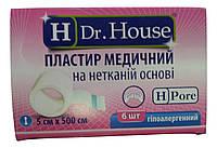 Лейкопластырь Dr.House катушка не тканевая основа 5*500 см