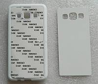 Samsung Galaxy A3 первое поколение резиновый (белый)