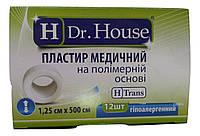 Лейкопластырь Dr.House катушка полимерная основа 1,25*500 см