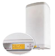 Электрический бойлер, навесной, вертикальный, прямоугольный с электронным термостатом OKHE 80 SMART на 80 л.