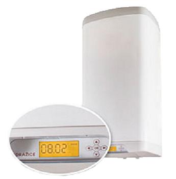 Электрический бойлер, навесной, вертикальный, прямоугольный с электронным термостатом OKHE 160 SMART на 160 л., фото 2