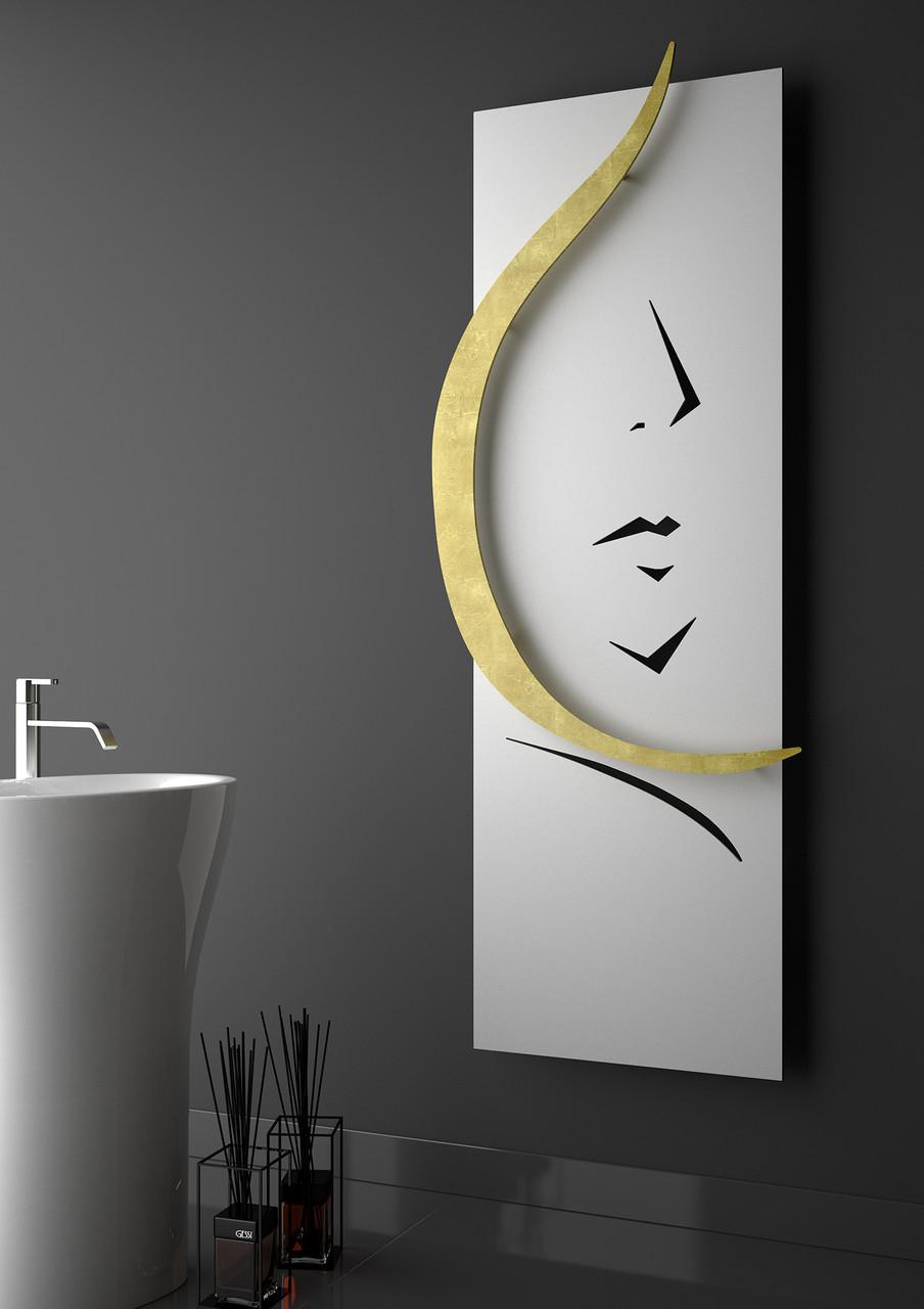 Дизайн радиатор WOMAN цвет White (Hotech)