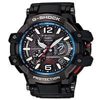 Наручные часы Сasio G-Shock Gravity Master с синей вставкой