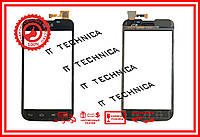 Тачскрін LG E455 Optimus L5 Dual SIM Чорний ОРИГ