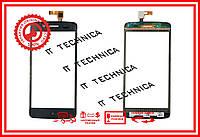 Тачскрін Prestigio MultiPhone 5507 Duo Чорний