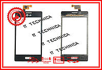 Тачскрін LG E610 Optimus L5 Чорний ОРИГІНАЛ