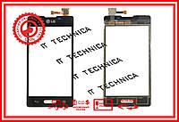Тачскрін LG E450 Optimus L5x Чорний ОРИГІНАЛ