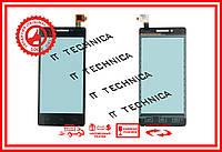 Тачскрин Prestigio MultiPhone 5450 Duo Черный