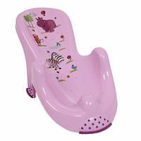 """Анатомическая подставка в ванночку OKT """"Hippo"""" - лиловый"""