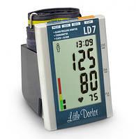 Тонометр автоматический на плечо LD 7 с искусственным интеллектом, индикатором аритмии, термометром, Сингапур, фото 1