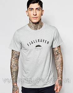 Серая футболка Fjallraven 2