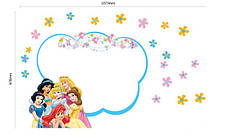 Дизайнерская наклейка Принцессы Дисней, фото 3