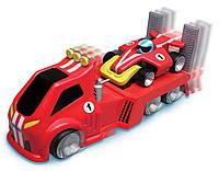 Игрушка инерционная TOMY буксировщик с гоночным автомобилем TOMY Tow n' Go Racer Toy Vehicle